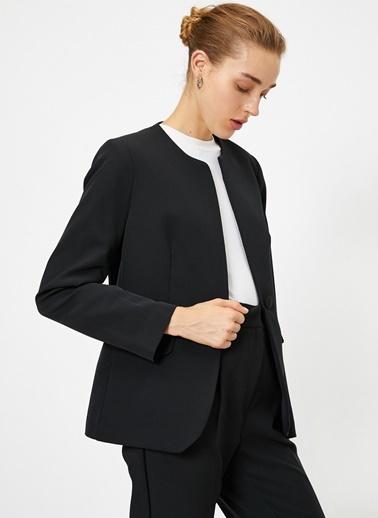 Koton Koton Siyah Ceket Siyah